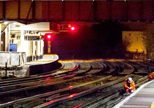 Spencer Rail completes another busy weekend of works on the Wessex Package 7 Platform Extension programme cover image