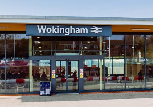 National Stations Improvement Programme '400th station' event at Wokingham Station cover image