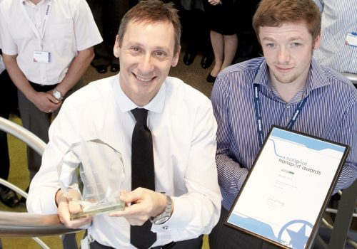 Spencer named Transport Supplier of the Year in prestigious UK industry awards cover image