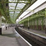 Wemyss Bay Station platform