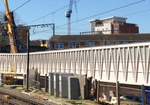 Hackney stations works on track for June completion cover image