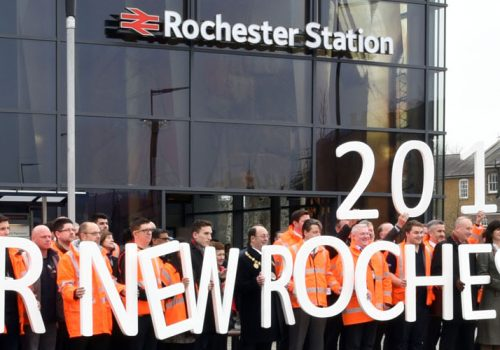 Spencer Group gives a final push to complete Rochester Station ahead of schedule cover image
