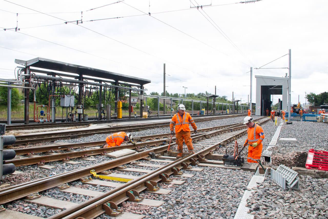 Craigentinny Rail Depot