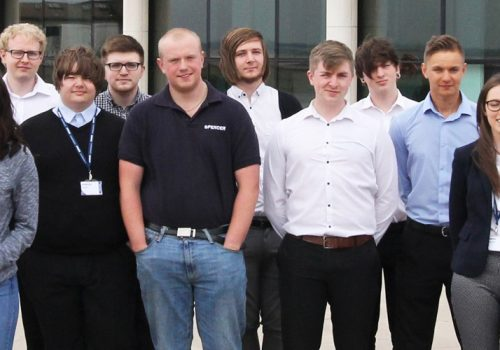 Spencer celebrates training success as 11 recruits complete apprenticeships cover image