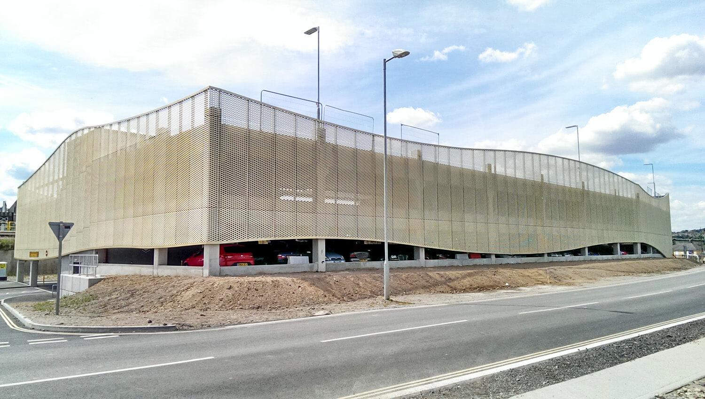 Medway Car Park Complete