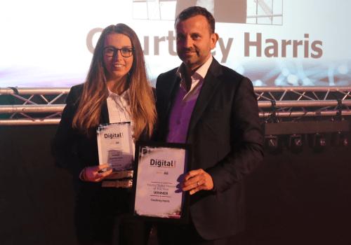 Spencer technician wins prestigious digital award cover image