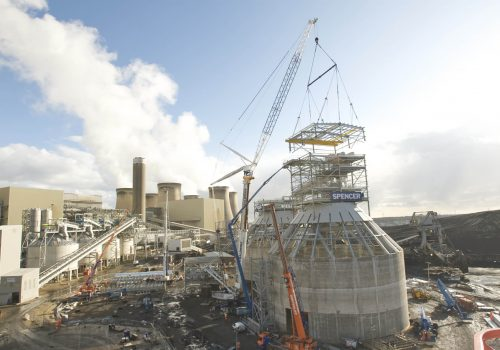 Drax Power Station Biomass Storage and Handling cover image