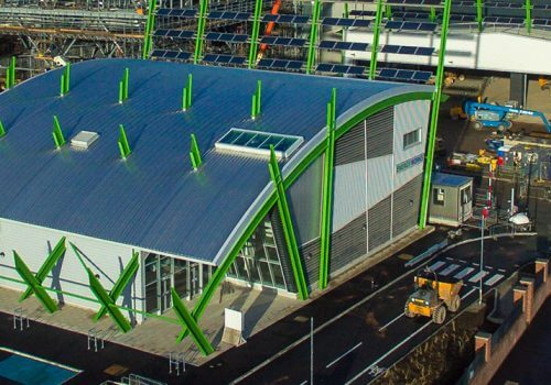 Milestone for £200m Energy Works power plant as research academy completed cover image