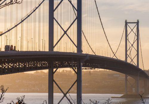 Spencer Group begin essential works to repair Forth Road Bridge cover image