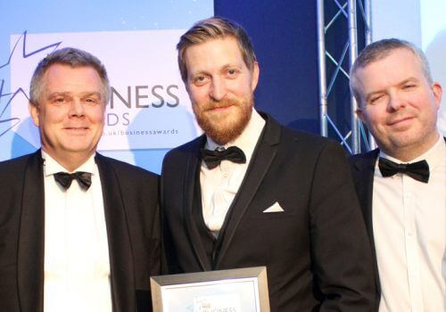 Spencer named Large Business of the Year at Hull Daily Mail Business Awards cover image