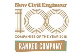 New Civil Engineer 100 Companies of the Year