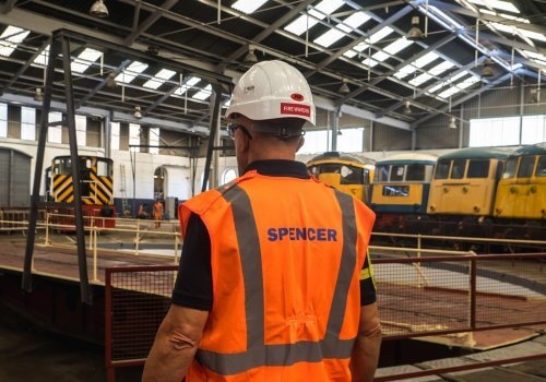 Spencer Group delivers maintenance facility at Barrow Hill rail heritage centre cover image