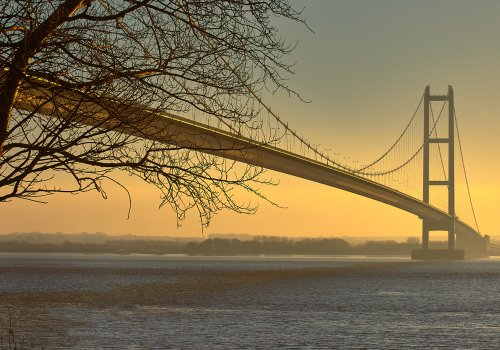 Spencer Group brings engineering expertise home to iconic Humber Bridge cover image