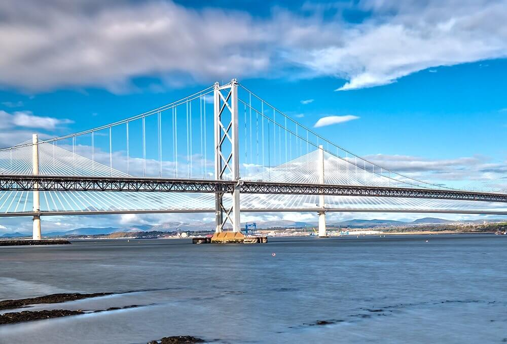 Spencer Group completes major repairs to Forth Road Bridge