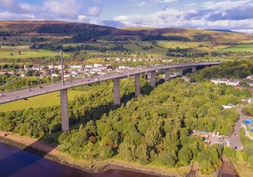 Spencer Group wins four-year Erskine Bridge maintenance painting contract cover image