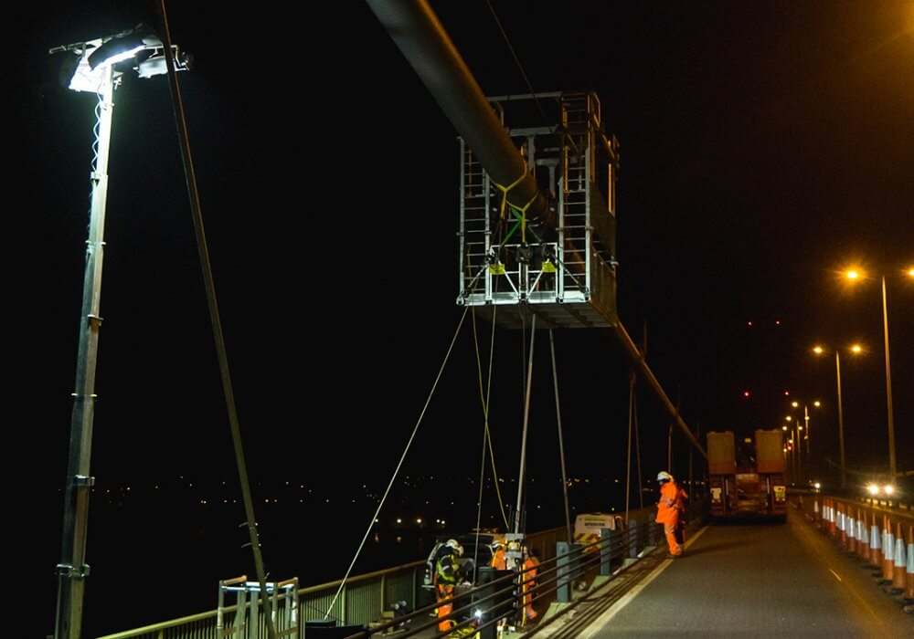 Humber Bridge hanger replacement and testing – Smeaton Award