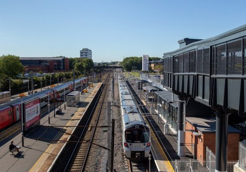 Spencer Group completes major Stevenage rail project ahead of schedule despite Covid-19 challenges cover image